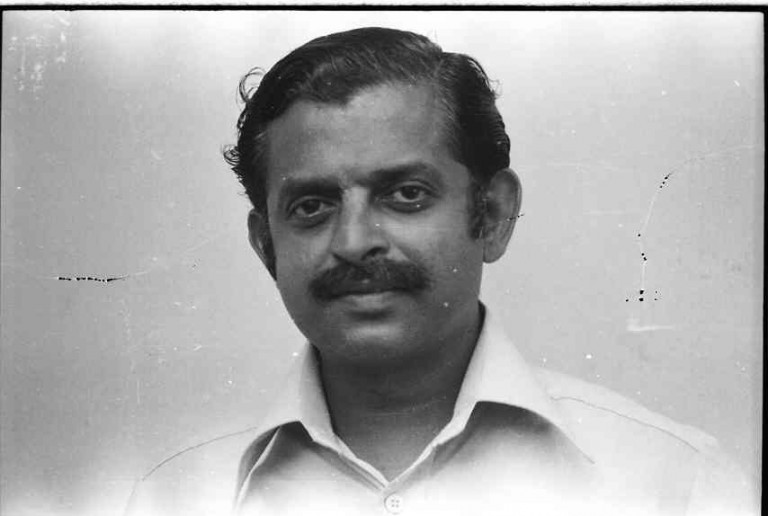 Dr.(Late) NGK Nair was a good friend and a fellow hard-rocker who dared to be with the soft rock/process group. Nair had a relatively early demise say circa, 1984.