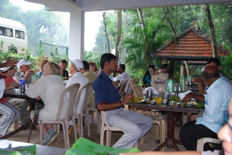 Tea break at Mulakumoodu.