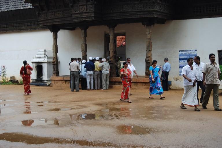 The Padmanabapuram palace ...