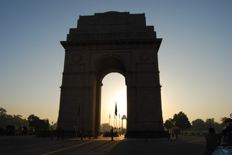 AT THE NATION'S CAPITAL- NEW DELHI.
