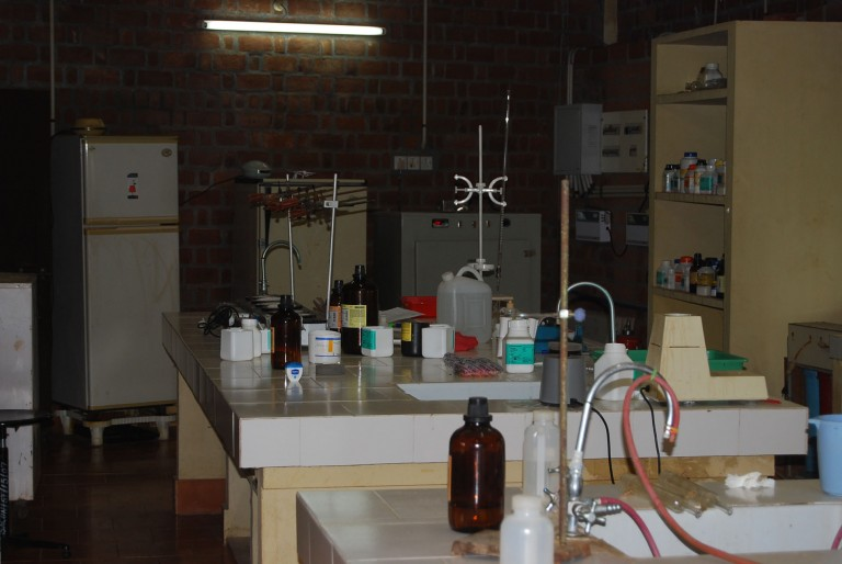 Another wet chemical lab, SACON