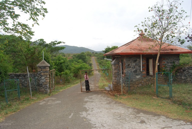 THE ENTRANCE TO SACON, IN ANAKATTY RD.