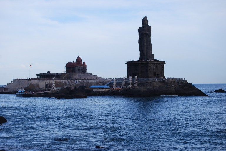 Rock memoral and Thiruvalluva...