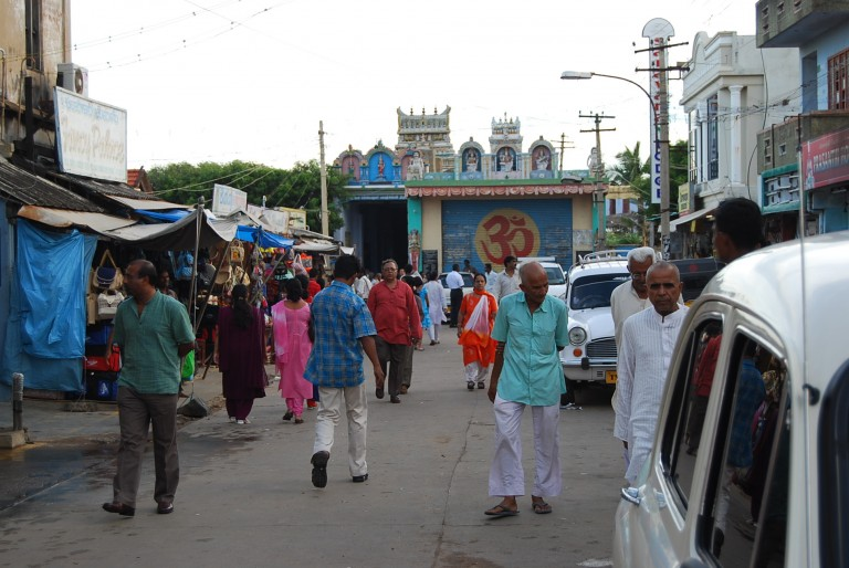 North entrance to Temple..