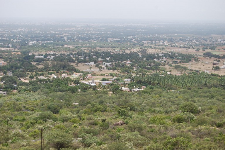 View of the greater Coimbatore from Maruthamalai.