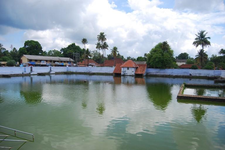 Temple Pond, Vaikom.