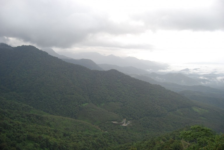 View toward the Valley, from the hills.
