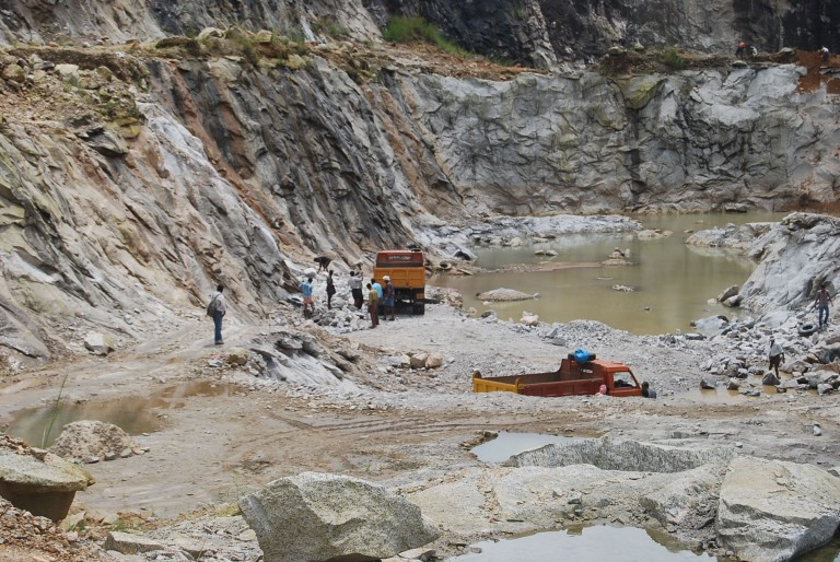 Quarrying is very profitable pursuit. No dearth for material or market