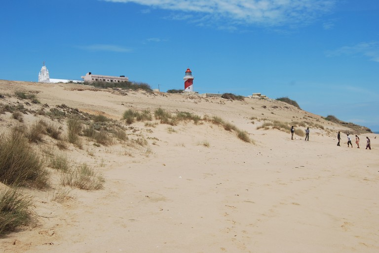 Cemented dunes