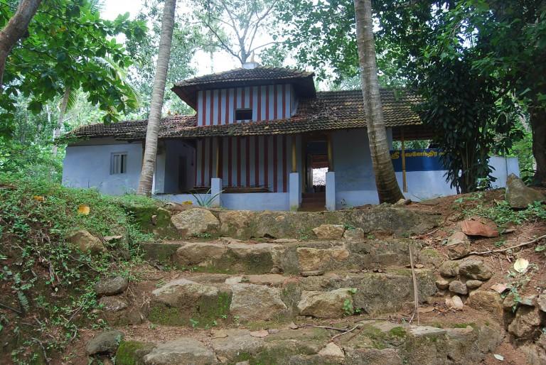 East doorway, Sri Bhuvanendra Griham, Cherukol, India