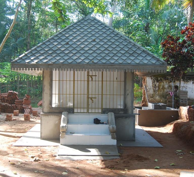 Renovated Shrine of Sri Bhuvanendra Bhagawan