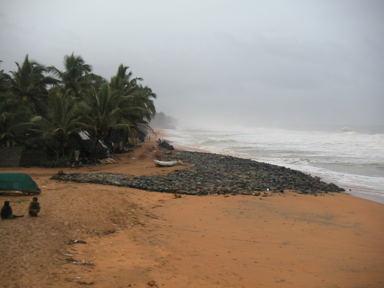 Northerly view from Pier, Trivandrum