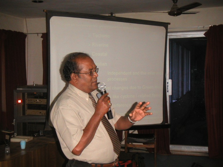 Dr SM Ramasamy (BDU) speaks