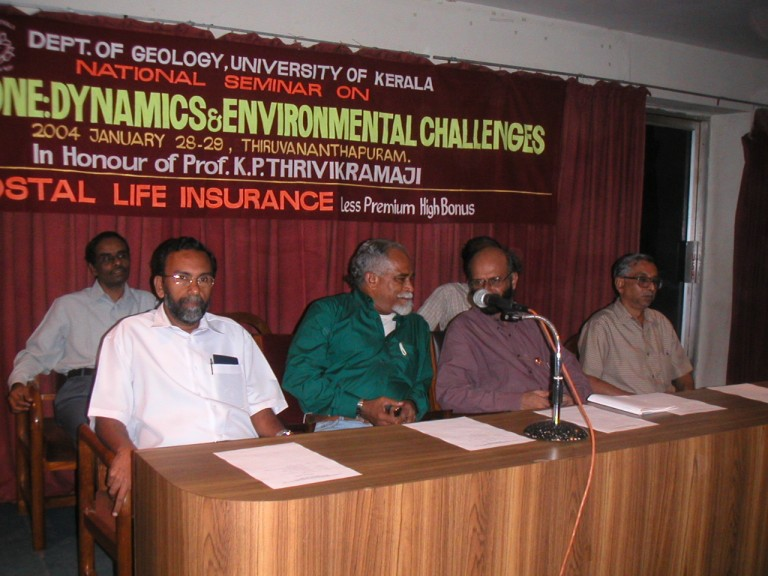 Dr Baba, DS Iqbal, Dr TKP and a guest on the dais