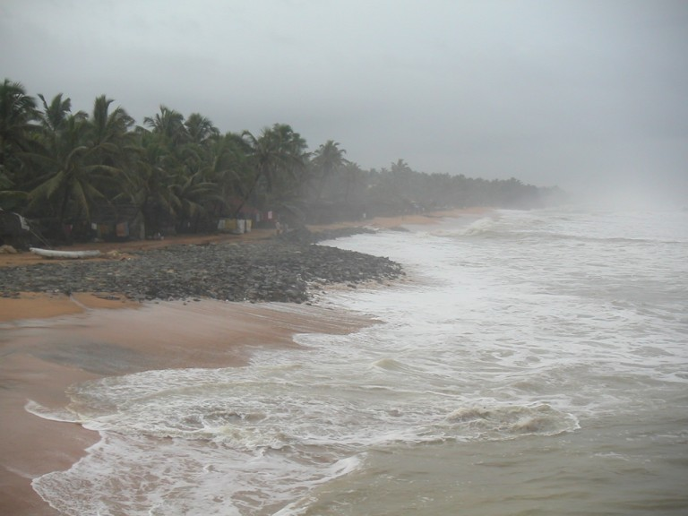 Southerly view, Trivandrum Pier