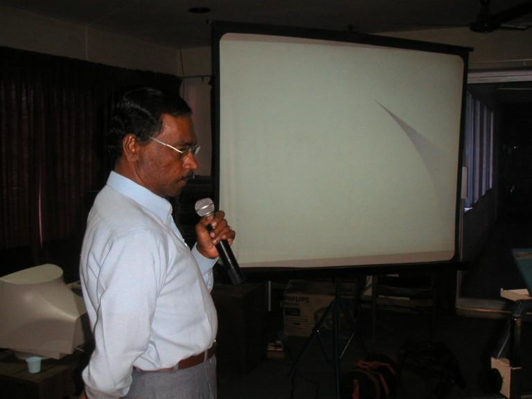 Mr.Krishanan Nair (GSI)