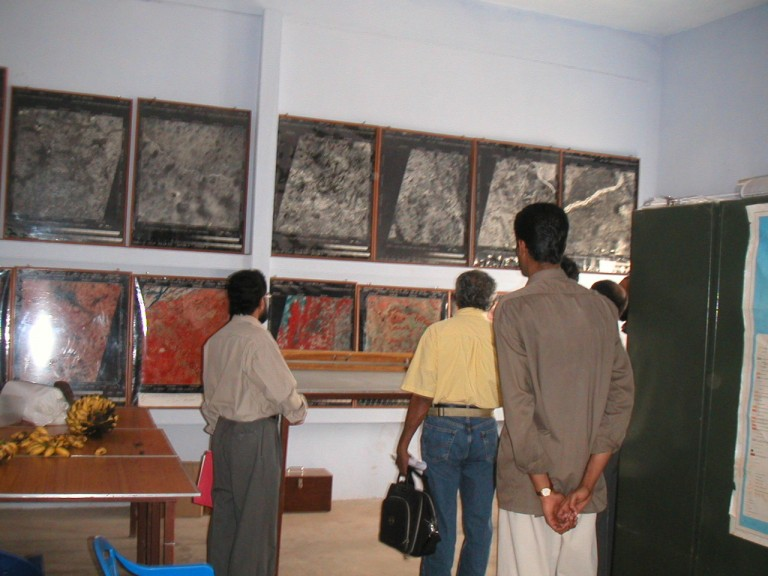 Some of the exhibits...
