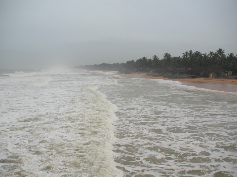 Northerly view, Trivandrum Pier