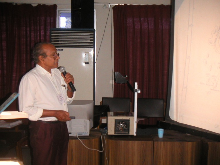Dr KM Nair (CESS)