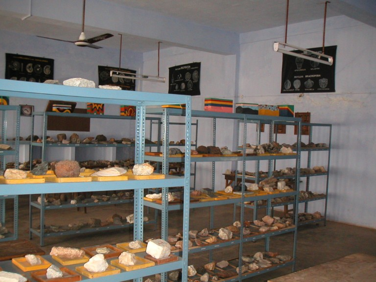 Another view of exhibits..