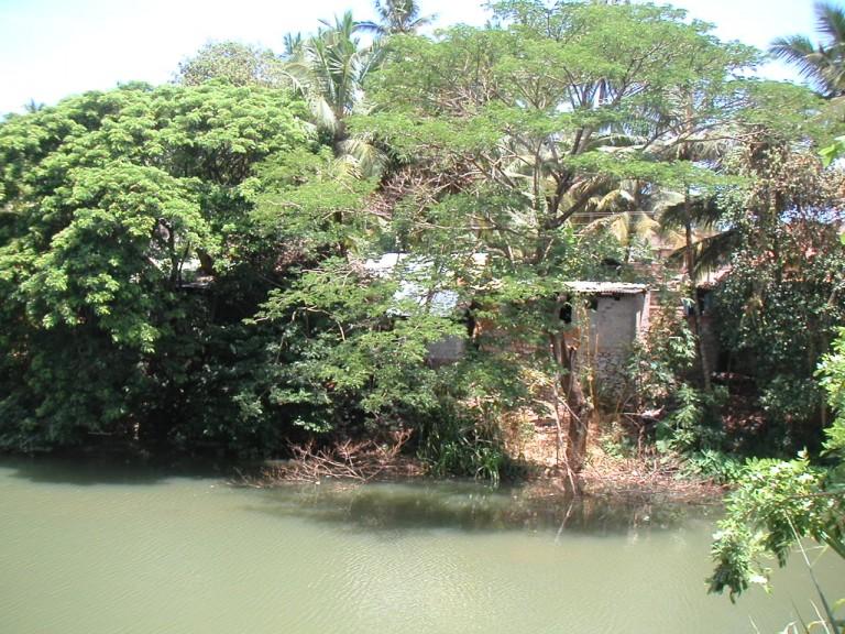 Bathing ghat, Karamana samooham.