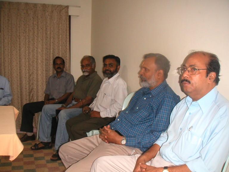 Dr RS NAir and Mr. Anilkumar, DSC Thambi, TKP & Bharathan