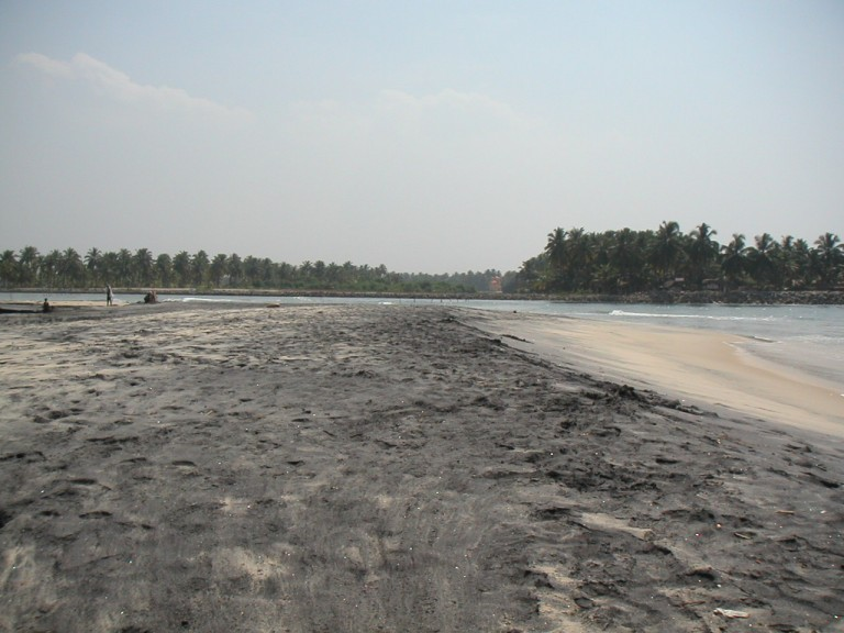 Come see the Black sand wealth of southern Kerala.