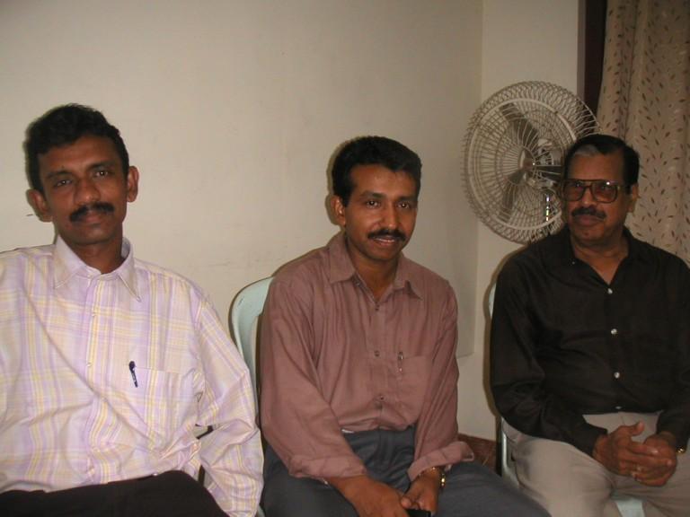 ?, Joji and G D Nair