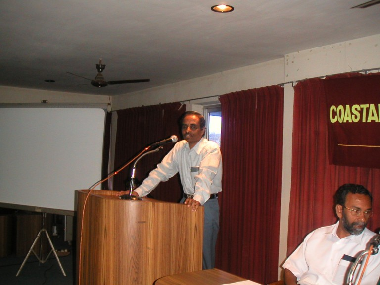 Mr Krishnakumar ....