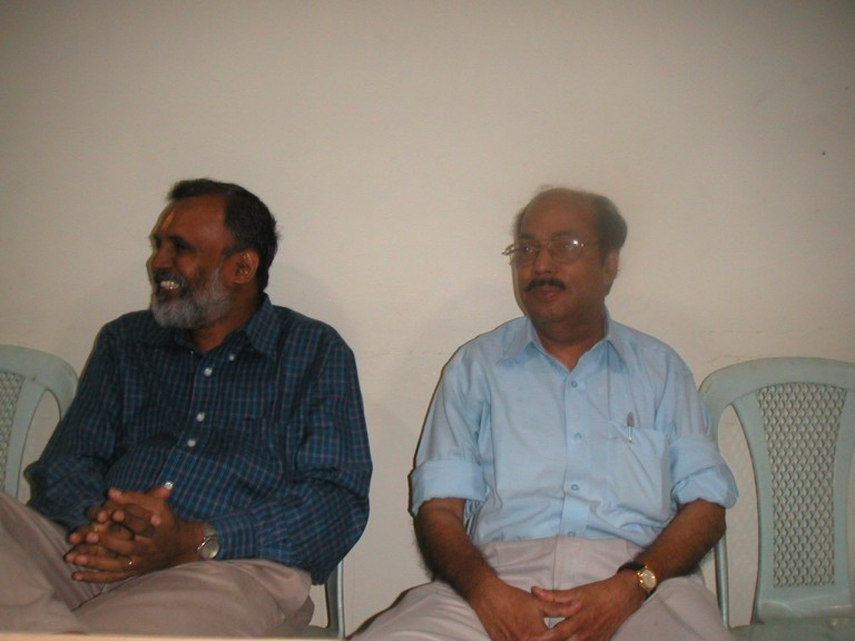 Mr.Anilkumar and Dr.RS Nair