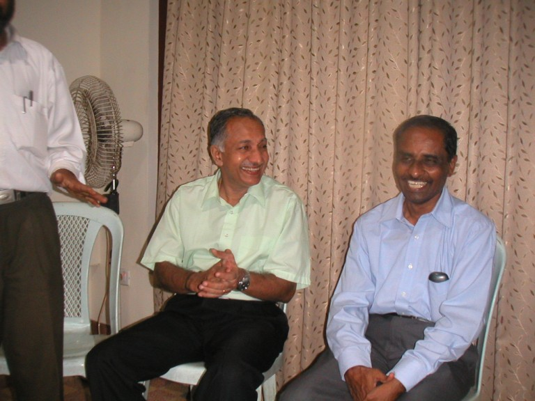 Dr.MM Nair and Krishnakumar - another view