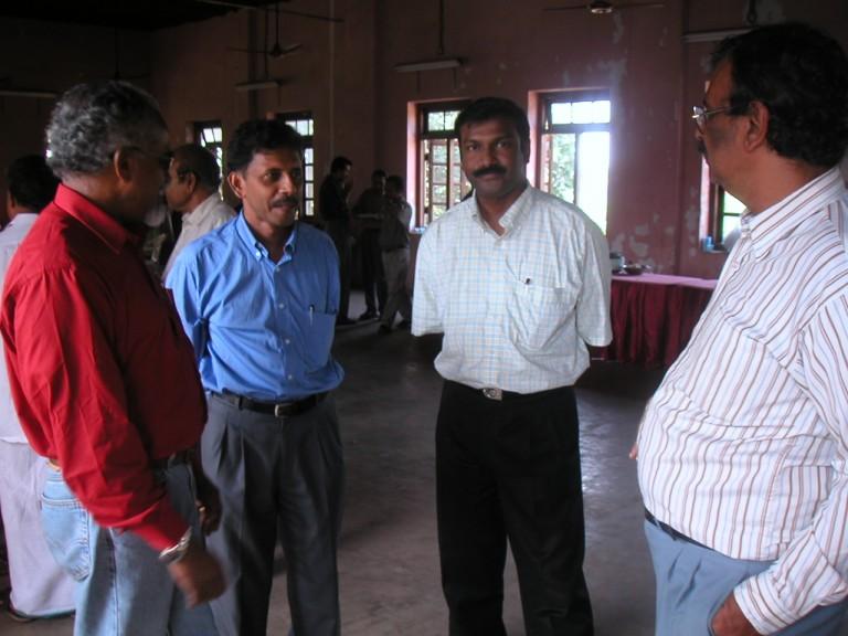 Thrivikramnji, Anirudhan, Shaji & Chacko