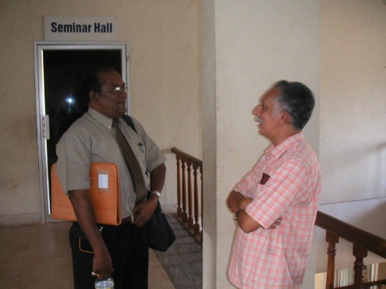 SMR with V. Narayanan NAir