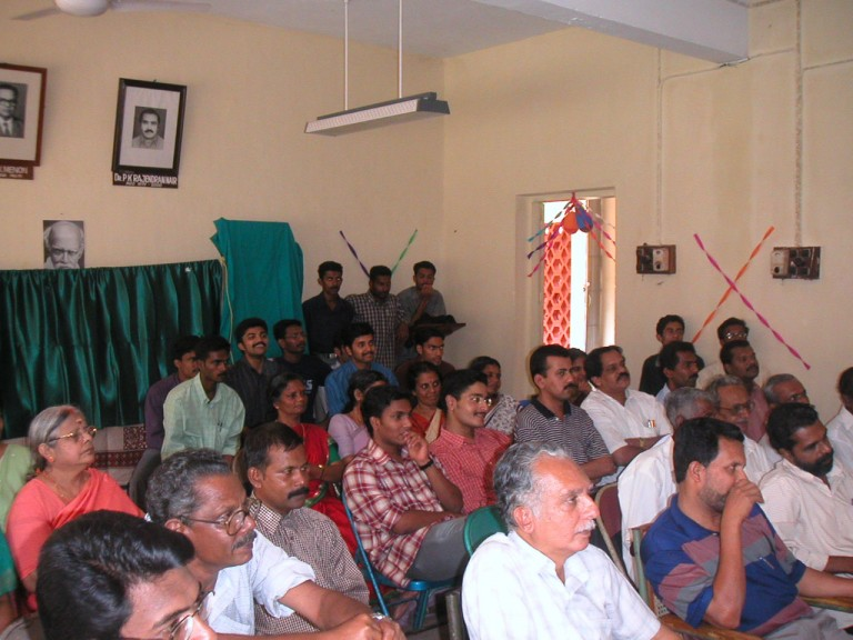 Section audience.