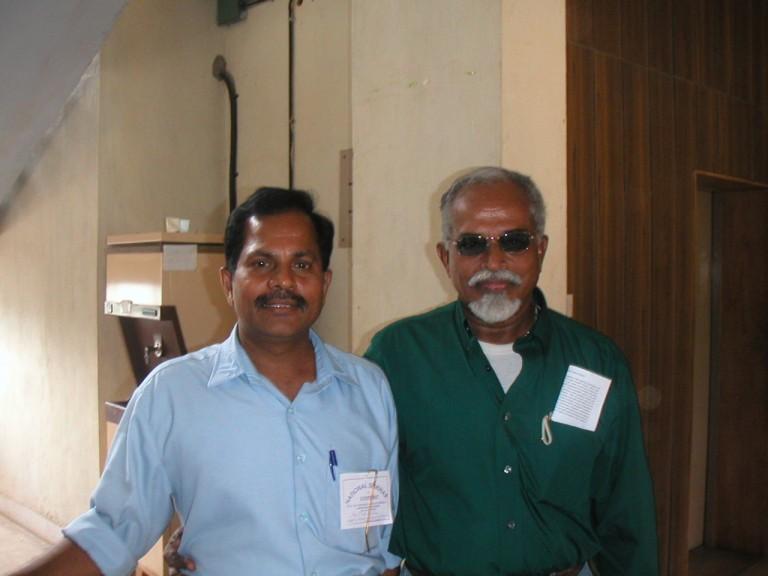 Dr.Seralathan (CUSAT) with TKP