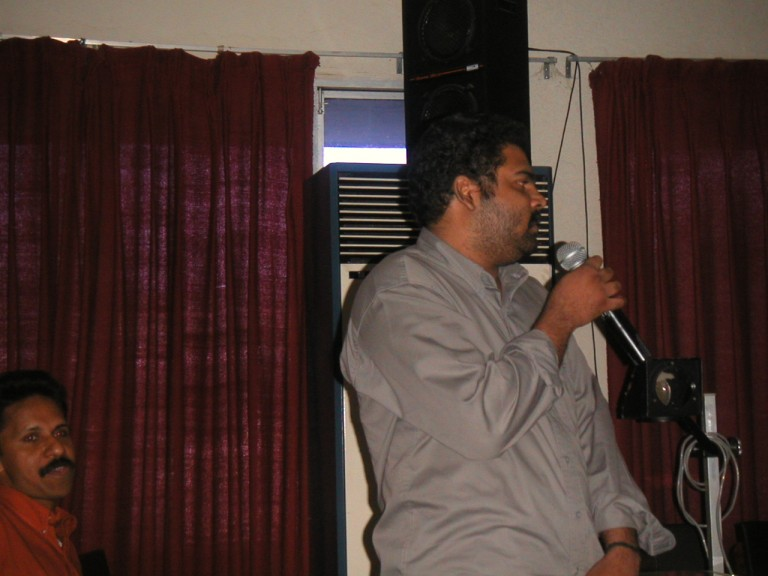 A guest speaker