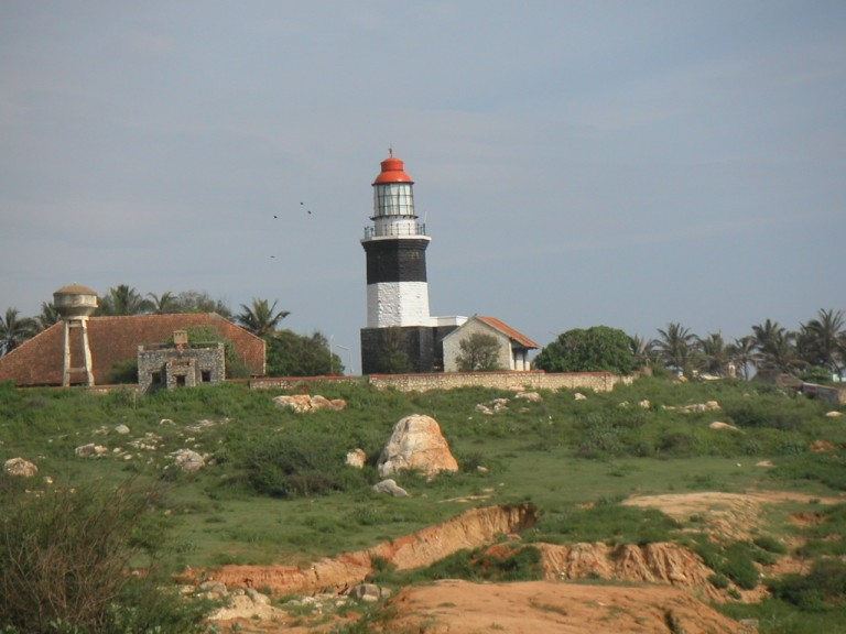 Muttom light, a British day legacy.