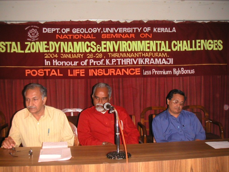 MM Nair (GSI) & Sasikumar (Coomerce Dept) in the dias