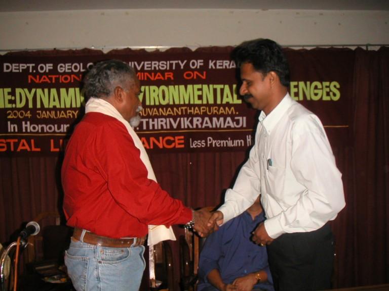 Dr Sabu congratulates