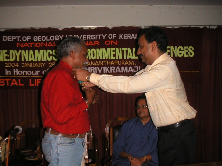Vinodkumar taking his time